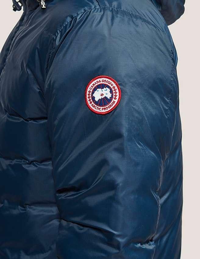 Canada Goose chilliwack parka replica fake - Blue Canada Goose Lodge Hoody Jacket   Tessuti