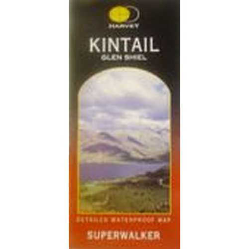 Kintail (Glen Shiel) Map
