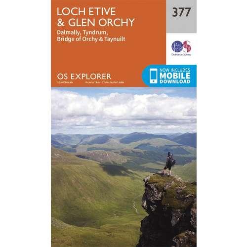 Explorer 377 1:25000 Loch Etive & Glen Orchy