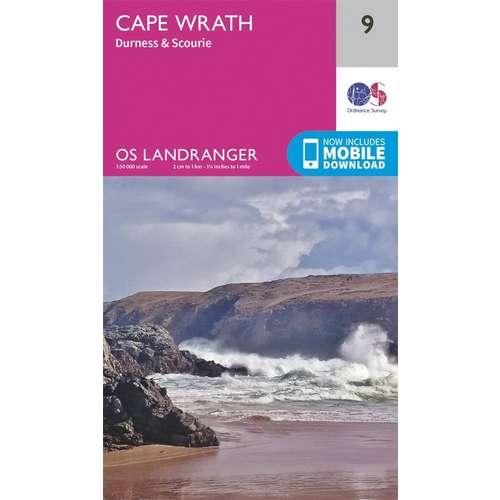 Landranger 09 1:50000 Cape Wrath