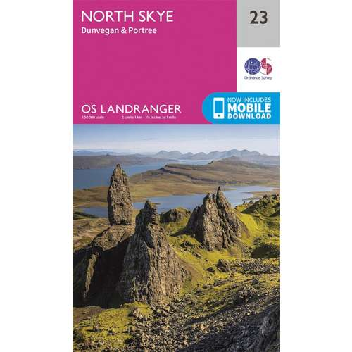 Landranger 23 1:50000 North Skye