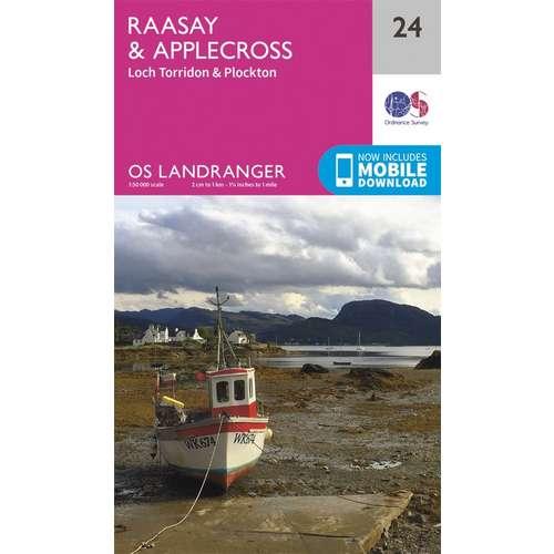 Landranger 24 1:50000 Raasay & Applecross