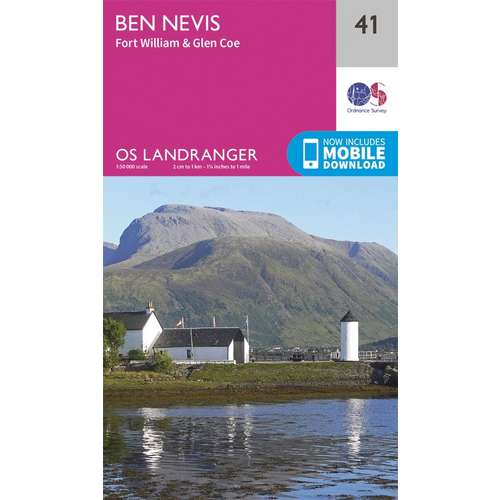 Landranger 41 1:50000 Ben Nevis
