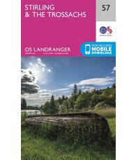 Landranger 57 1:50000 Stirling & The Trossachs
