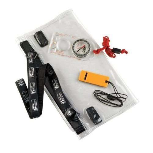 Dry Map Case Compass Whistle