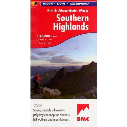Southern Highlands Mtn Map
