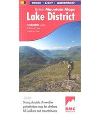 Lake District Mountain Map