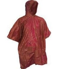 Pvc Assorted Poncho