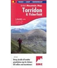 Torridon Fisherfield Mtn Map