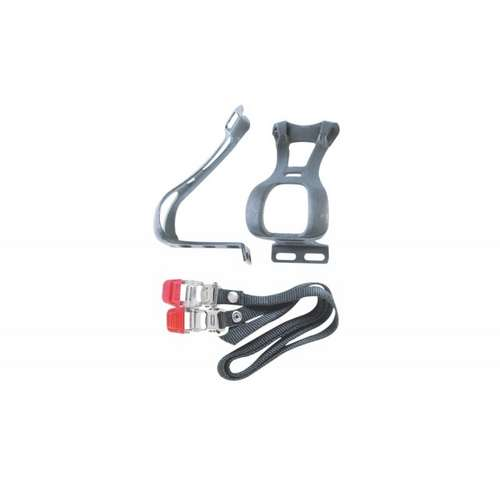 Toeclip and Straps Set Large