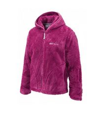 Girl's Lara Hooded Fleece Jacket