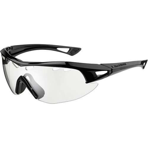 Recon Glasses Black Frame Clear Lens