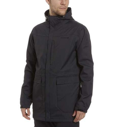 Men's Long Waterproof Jacket
