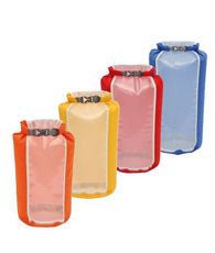 Clear Sight Drybags - 4 Pack