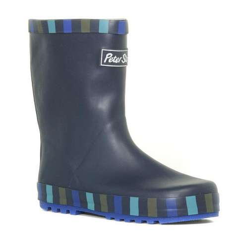 Boys Welly Stripe Navy