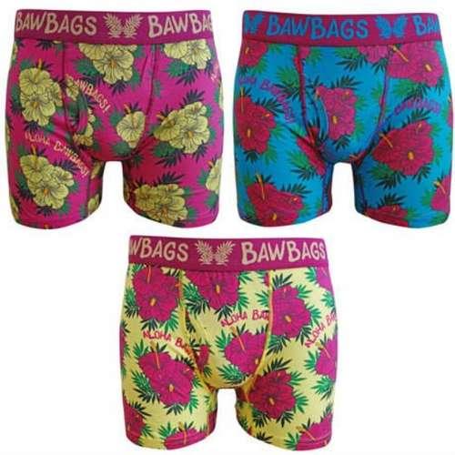 Men's Originals Aloha Boxer Shorts 3 Pack
