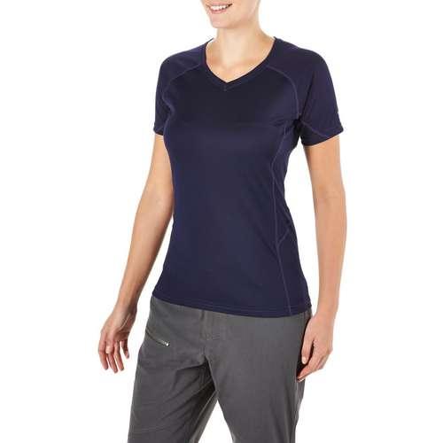 Women's Short Sleeved V-Neck Tech Tee