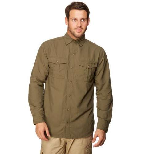 Men's Long Sleeve Travel Shirt
