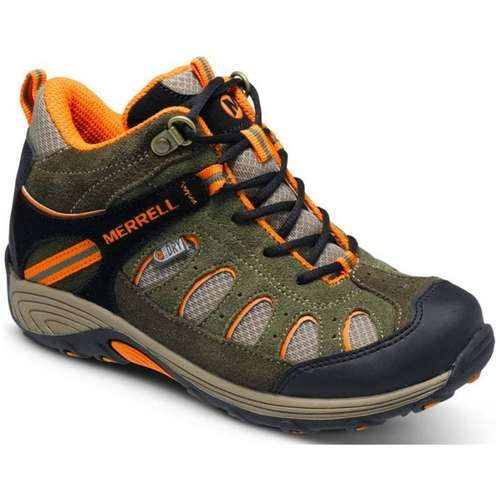 Boys Chameleon Mid Lace Waterproof Shoes