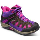 Kids Chameleon Mid Lace Waterproof Shoes