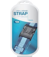 Away Lockable Luggage Strap