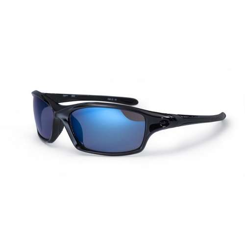 Daytona Shiny Black Sunglasses