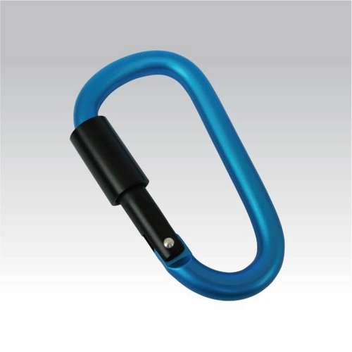 Carabiner With Screw Lock 8 Mm