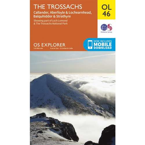 Explorer OL46 The Trossachs Map