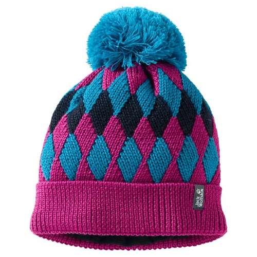 Kids Diamond Knit Cap