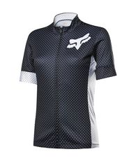 Womens Switchback Short Sleeve Jersey Black