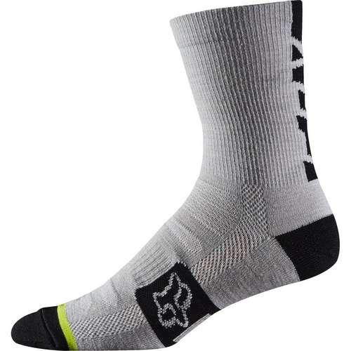 Merino Wool Socks Heather White