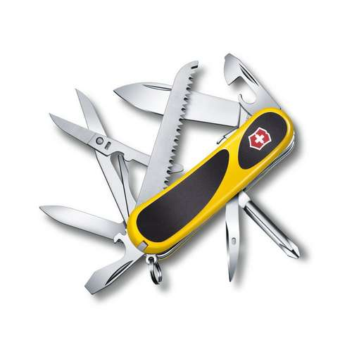 Evogrip 18 Pocket Knife - Yellow Black
