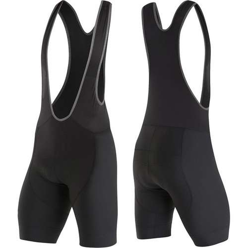 Mens Elite Pursuit Bib Short Black