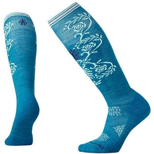 Womens Ski Light Pattern Socks