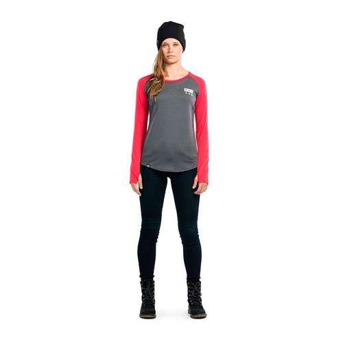 Women's Long Sleeve Rocker Raglan Base Layer