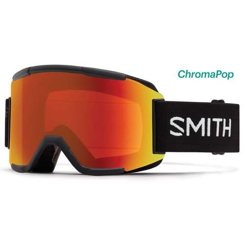 Men's Squad Black Goggle