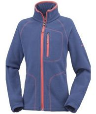 Girls Fast Trek II Fleece Jacket