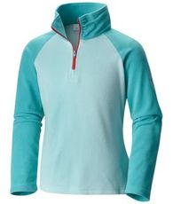 Girls Glacial Half Zip Fleece Jumper