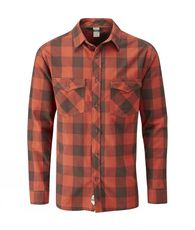 Men's Boundary Checked Flannel Shirt