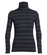 Women's Vertex Long Sleeve Half Zip Icon Fairisle