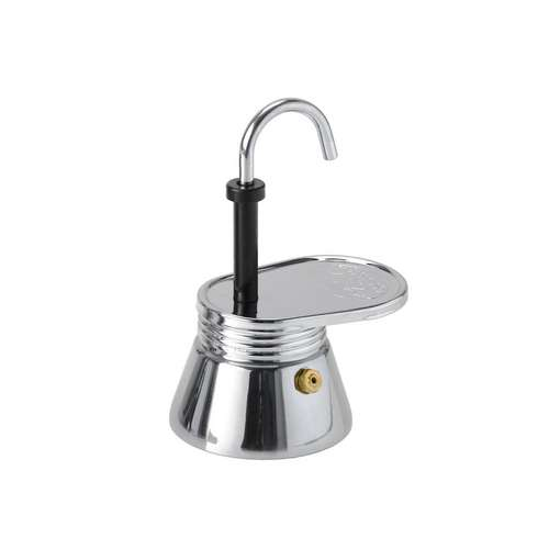 Glacier Stainless 1 Cup Espresso Maker