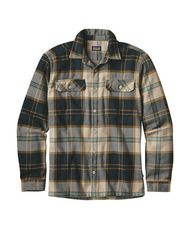 Men's Flannel Fjord Shirt