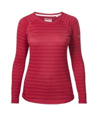 Women's Stripe Long Sleeve Tech Top