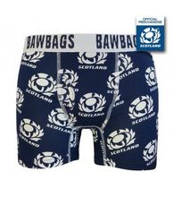 Men's Original Scotland Rugby Boxers