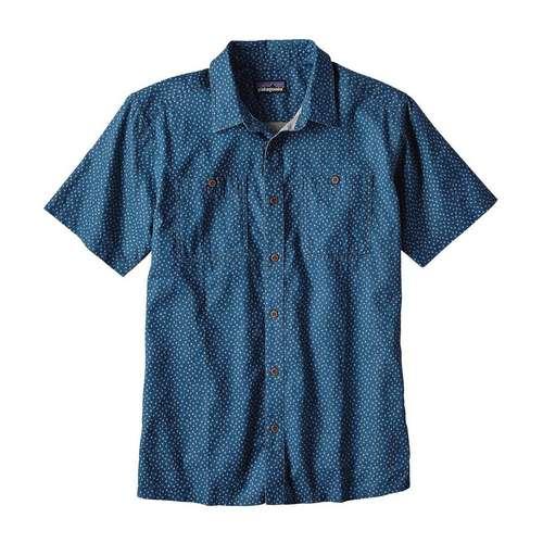 Men's Short Sleeve Back Step Shirt