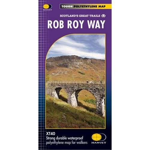 Rob Roy Way Map
