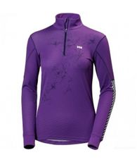 Women's HH Active Flow Graphic 1/2 Zip Base Layer