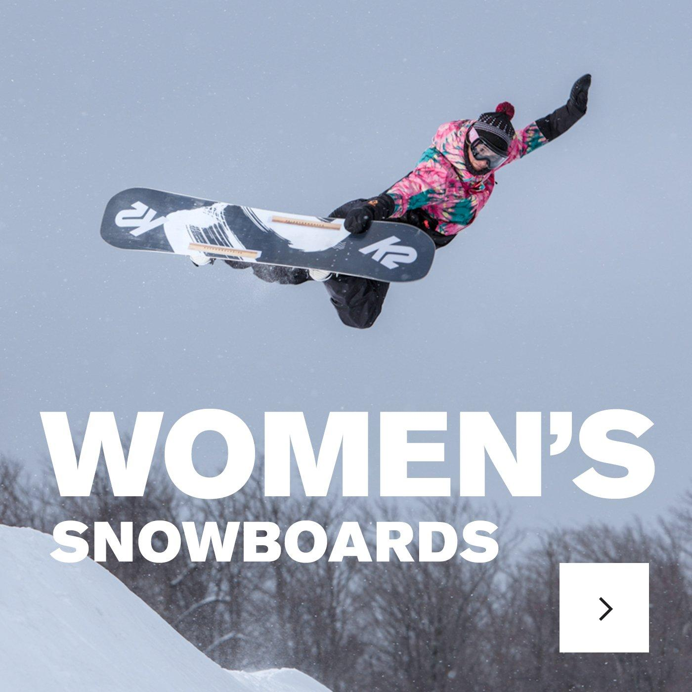 view the womens snowboard collection