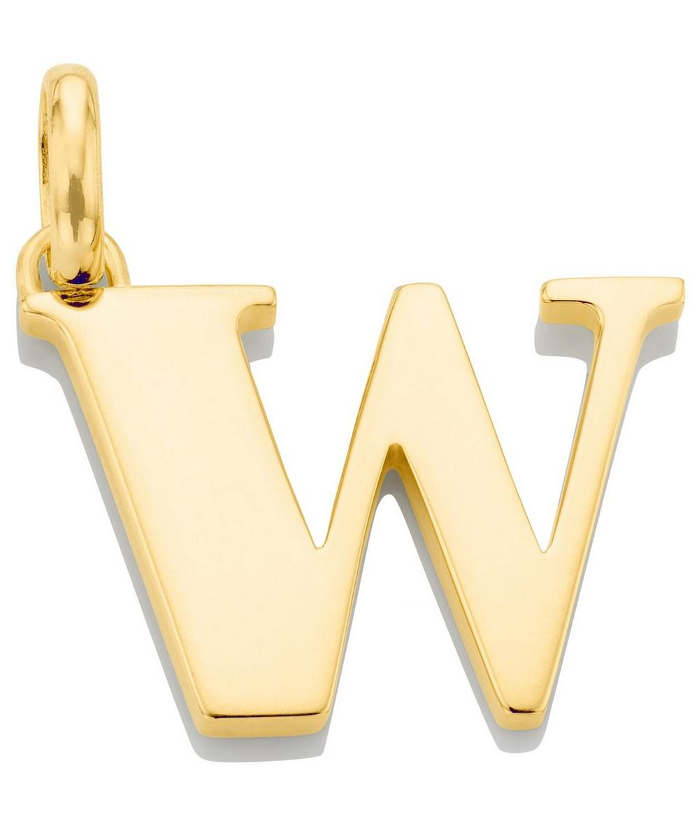 Gold-Plated Alphabet Pendant A-Z