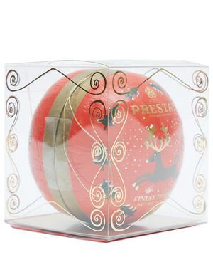 Reindeer Christmas Bauble With Red Velvet Truffles 60g